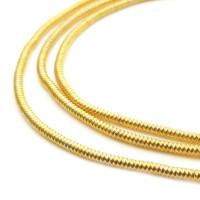 Neelansh Exports от 10 Канитель мягкая, гладкая KAN/MF1-05 глянец, золото (1 г)