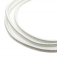 Neelansh Exports от 10 Канитель мягкая, гладкая KAN/MF1-01 глянец, серебро (1 г)