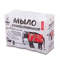 НЕВСКАЯ КОСМЕТИКА 11142 Мыло хозяйственное 72% КОМПЛЕКТ 4 шт. х 100 г (Невская Косметика), в упаковке, 11142
