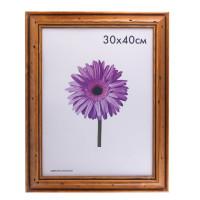 "NO NAME 0001-15-0027 Рамка премиум 30х40 см, дерево, багет 44 мм, ""Sabrina"", коричневая, 0001-15-0027"
