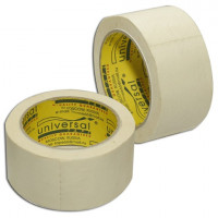 UNIVERSAL 01649 Клейкая лента малярная 48 мм х 25 м, потребительская, 01649