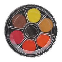 KOH-I-NOOR 017150300000 Краски акварельные KOH-I-NOOR, 12 цветов, без кисти, круглая пластиковая коробка, 017150300000