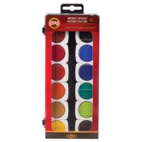 KOH-I-NOOR 017550400000 Краски акварельные художественные KOH-I-NOOR, 12 цветов, кроющие, без кисти, 017550400000