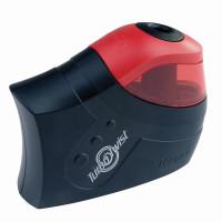 """MAPED 026031 Точилка электрическая MAPED (Франция) """"Turbo Twist"""", с контейнером, питание 4 батарейки AA, 026031"""