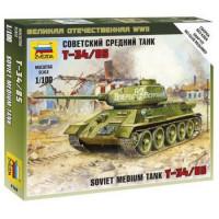 ЗВЕЗДА 11-121011 Сборная Модель 1:100 Советский средний танк Т-34-85 6160
