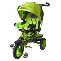 Прочие 11-135896 Велосипед-коляска LAMBORGHINI L3G (3-х колесный,ручка управления,надувные колеса d=10 и 12 дюймов,регулируемая спинка,свет,звук,LCD дисплей) (зеленый), (SHENZHEN GBC GLORY BUSINESS CORPORATION LTD)