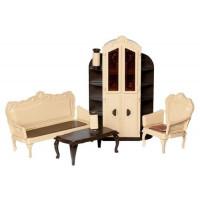 Прочие 11-136119 Мебель для кукол Набор мебели для гостиной (пластик) (в коробке) (от 3 лет) С-1299, (Огонек)