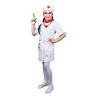 Лидер ПК 11-140641 Игровой костюм Доктор (халат, колпак, аксессуары) (текстиль, пластик) (от 3 лет) 87757