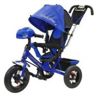 Прочие 11-145743 Велосипед-коляска LEXUS TRIKE 950M4-N1210-BLUE (3-х колесный, надувные колеса d=12 и 10 дюймов, регулируемая спинка, светомузыкальная панель, задний тормоз) (синий), (HANGZHOU JOY SHINE IMP & EXP CO.,LTD)