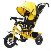 Прочие 11-145747 Велосипед-коляска LEXUS TRIKE 950-108-YELLOW (3-х колесный, колеса из ПВХ d=10 и 8 дюймов, регулируемая спинка, задний тормоз) (желтый), (HANGZHOU JOY SHINE IMP & EXP CO.,LTD)