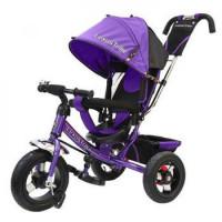 Прочие 11-145748 Велосипед-коляска LEXUS TRIKE 950-N1210-VIOLET (3-х колесный, надувные колеса d=12 и 10 дюймов, регулируемая спинка, задний тормоз) (фиолетовый), (HANGZHOU JOY SHINE IMP & EXP CO.,LTD)