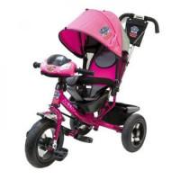 Прочие 11-145751 Велосипед-коляска Щенячий Патруль 950M2-N1210-PPL1 (3-х колесный, надувные колеса d=12 и 10 дюймов, большое сиденье, регулируемая спинка, светомузыкальная панель), (HANGZHOU JOY SHINE IMP & EXP CO.,LTD)