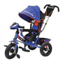 Прочие 11-145752 Велосипед-коляска LEXUS TRIKE LTSPORT 950M2S-N1210-BLUE+ORANGE (3-х колесный, надувные колеса d=12 и 10 дюймов, регулируемая спинка, светомузыкальная панель) (синий+оранжевый), (HANGZHOU JOY SHINE IMP & EXP CO.,LTD)