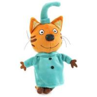 Прочие 11-148615 Мягкая игрушка Три кота. Компот (16см, озвученный) (в пакете) V92305-16S, (P.T. International Co., LTD)
