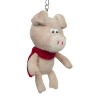 Прочие 11-152406 Мягкая игрушка Поросенок с бежевым носом (12см) MT-MRT031827, (Jiangsu Guotai Bochuang Industrial Co., Ltd)