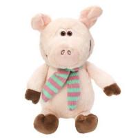 Прочие 11-154960 Мягкая игрушкаFluffyFamily Свинтус с шарфом (18см) 681537, (JIANGSU GUOTAI INTERNATIONAL GROUP GUOMAO CO.,LTD)