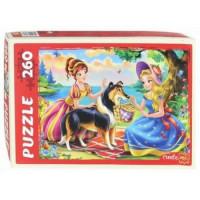 Рыжий кот 11-155923 Пазлы 260 дет. Сказка о принцессах П260-8289, (Рыжий кот)