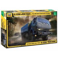 ЗВЕЗДА 11-170981 Сборная модель 1:35 Российский трехосный грузовик К-5350 Мустанг 3697, (Звезда)