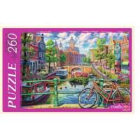 Рыжий кот 11-174686 Пазлы 260 дет. Канал в Амстердаме П260-1778, (Рыжий кот)