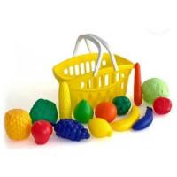 Лидер ПК 11-177165 Игровой набор Продуктовая корзина №3 (15 предметов) (пластик) (в сетке) (от 3 лет) МТ3622