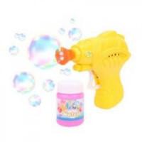 Прочие 11-177210 Мыльные пузыри (пистолет, флакон с мыльным раствором 50мл) (в пакете) (от 3 лет) 1870-640069, (Shantou Gepai Plastic Industrial Co. Ltd)