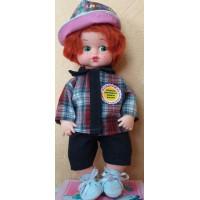 Прочие 11-178176 Кукла Настроелкин. Правила здорового образа жизни (мальчик) (с речевым чипом, раскраска) (в коробке), (Мир кукол)