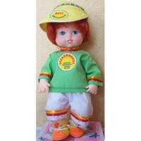 Прочие 11-178178 Кукла Закалялкин. Правила здорового образа жизни (мальчик) (с речевым чипом, раскраска) (в коробке), (Мир кукол)