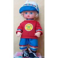 Прочие 11-178179 Кукла Распоряделкин. Правила здорового образа жизни (мальчик) (с речевым чипом, раскраска) (в коробке), (Мир кукол)