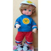 Прочие 11-178180 Кукла Движелкин. Правила здорового образа жизни (мальчик) (с речевым чипом, раскраска) (в коробке), (Мир кукол)