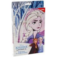 """LORI 11-180048 Картина из пластилина LORI Disney Холодное сердце-2. Эльза (комплект материалов для изготовления) (в коробке) (от 4 лет) Пкд014, (ООО """"7-Я"""")"""