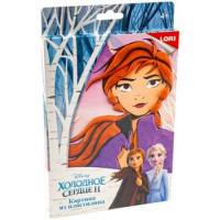 """LORI 11-180055 Картина из пластилина LORI Disney Холодное сердце-2. Анна (комплект материалов для изготовления) (в коробке) (от 4 лет) Пкд015, (ООО """"7-Я"""")"""