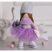 ArtUzor 11-180080 Интерьерная кукла. Молли (21см, комплект материалов для изготовления) (в пакете) 4816585 ArtUzor
