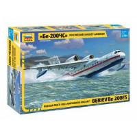 ЗВЕЗДА 11-180597 Сборная модель 1:144 Российский самолет-амфибия Бе-200ЧС 7034