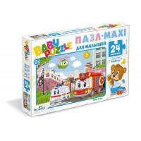 """ORIGAMI 11-182062 Пазл Baby Puzzle 24 дет. Город 05774, (ООО """"Оригами"""")"""