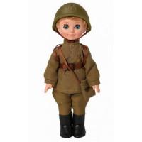 ВЕСНА 11-182439 Кукла Пехотинец в каске (30см) В3979