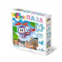 "ORIGAMI 11-184252 Пазл Baby Puzzle 36 дет. Вертолетик 05829, (ООО ""Оригами"")"