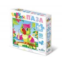 "ORIGAMI 11-184255 Пазл Baby Puzzle 16 дет. Попугай 05832, (ООО ""Оригами"")"