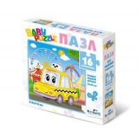 """ORIGAMI 11-184257 Пазл Baby Puzzle 16 дет. Такси 05833, (ООО """"Оригами"""")"""