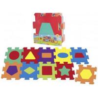 Рыжий кот 11-185093 Коврик-пазл Формы и цвета (160*64см, 10 сегментов) КВ-2567