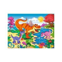 Рыжий кот 11-189738 Пазл в рамке 15 дет. Мир динозавров №5 П15-7537, (Рыжий кот)