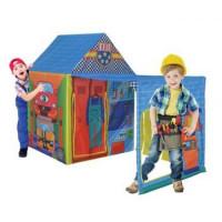 Рыжий кот 11-190001 Детская игровая палатка Автомастерская (150*75*110см) (в коробке) 8174, (Рыжий кот)