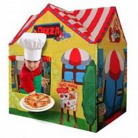 Рыжий кот 11-190002 Детская игровая палатка Пиццерия (95*72*102см) (в коробке) 8729, (Рыжий кот)