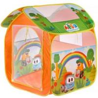 Рыжий кот 11-190075 ИграемВместе Детская игровая палатка Грузовичок Лева (83*80*105см) (в сумке) GFA-GL-R, (Shantou City Daxiang Plastic Toy Products Co., Ltd)