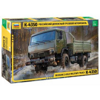 ЗВЕЗДА 11-191138 Сборная модель 1:35 Российский двухосный грузовой автомобиль К-4350 3692, (Звезда)