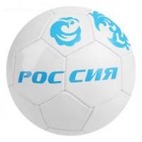 Прочие 11-191153 Мяч футбольный Россия (размер 5, 32 панели, PVC, 2 подслоя, машинная сшивка) 1890612, (Sima-land)