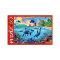 Рыжий кот 11-192140 Пазлы 260 дет. Морской мир №2 П260-1088, (Рыжий кот)