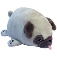 Прочие 11-192679 Мягкая Игрушка Super soft. Собачка Мопс (13см, светло-коричневый) M2005, (Junfa Toys Ltd)
