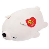 Прочие 11-192683 Мягкая Игрушка Super soft. Медвежонок полярный (27см) M2021, (Junfa Toys Ltd)