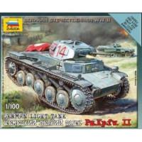 ЗВЕЗДА 11-73050 Сборная модель 1:100 Немецкий легкий танк PZ.KPFW-2 6102