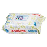 ЛАЙМА 128079 Салфетки влажные КОМПЛЕКТ 120 шт., для детей ЛАЙМА, универсальные очищающие, клапан-крышка, 128079